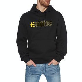 Etnies Ecorp Pullover Hoody - Black/yellow