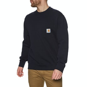 Sweat Carhartt Pocket - Dark Navy