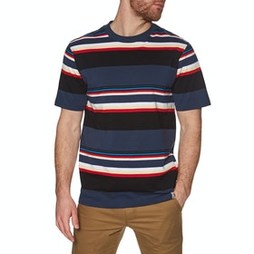 Carhartt Sunder Short Sleeve T-Shirt - Sunder Stripe, Blue / Blue