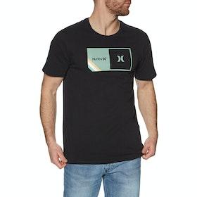 T-Shirt à Manche Courte Hurley Halfer Stripe - Black