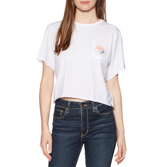 T-Shirt à Manche Courte Hurley Take Me Away Pocket Crew