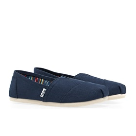 Toms Classic Alpargata Women's Slip On Trainers - Navy