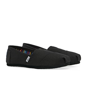Toms Classic Alpargata Women's Slip On Trainers - Black