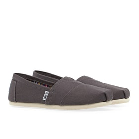 Toms Classic Alpargata Women's Slip On Trainers - Ash