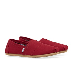 Toms Mens Classic Alpargata Men's Slip On Trainers - Red