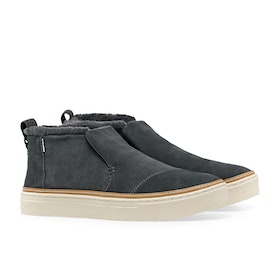 Toms Paxton Women's Shoes - Water Resistant Forged Iron Suede