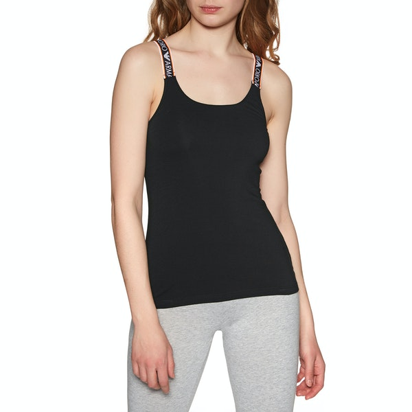 Emporio Armani Knitted Tank Women's Loungewear Tops