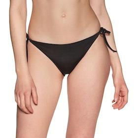 Calvin Klein Cheeky String Side Tie Women's Bikini Bottoms - Pvh Black