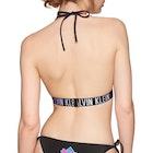 Calvin Klein Logo Back Fixed Triangle Damen Bikinioberteil