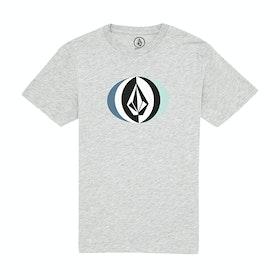 Volcom Vast Basic , Kortermet t-skjorte Boys - Heather Grey