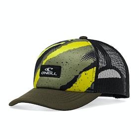 O'Neill Bb Trucker Boys Cap - Yellow Green