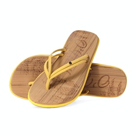 O'Neill Ditsy Sandals - Golden Rod