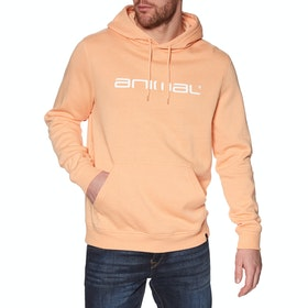 Animal Driver Pullover Hoody - Coral