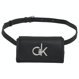 Riñonera Mujer Calvin Klein Re-lock Belt - Black