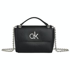 Bolsos Mujer Calvin Klein Re-lock Convertible Crossbody - Black