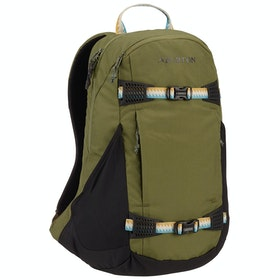 Burton Dayhiker 25L Snow Backpack - Martin Olive Trip Ripstop