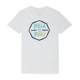 Billabong Octo Short Sleeve T-Shirt - White