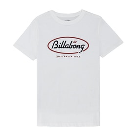 Billabong State Beach Short Sleeve T-Shirt - White