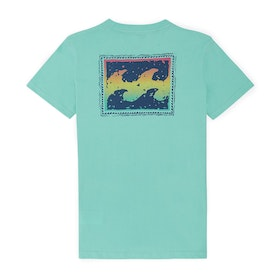 Billabong Warchild Short Sleeve T-Shirt - Light Aqua