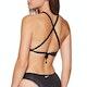 Nike Swim Onyx Flash Reversible Crossback Bikini Top