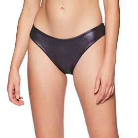 Bas de maillot de bain Nike Swim Onyx Flash Reversible Sling - Iridescent Black