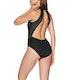 Maillot de Bain Nike Swim Sport Mesh Zip Front One Piece
