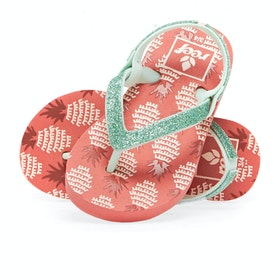Reef Little Stargazer Prints Kids Sandals - Pineapple