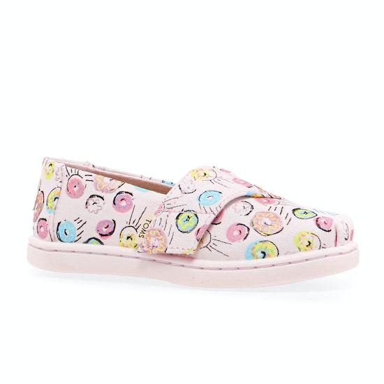 Toms Alpargata Mini Donut Girls Slip On Shoes