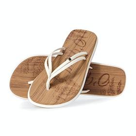 O'Neill Ditsy Sandals - Powder White