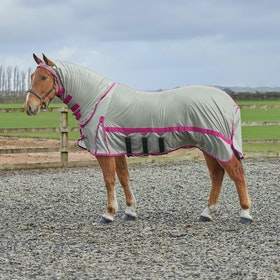 Derby House Pro Fly Rug - Silver Cabaret