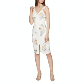 Ted Baker Haarlow Womens ワンピース - Ivory