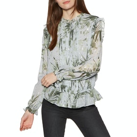Ted Baker Tibbine Dames Top - Grey