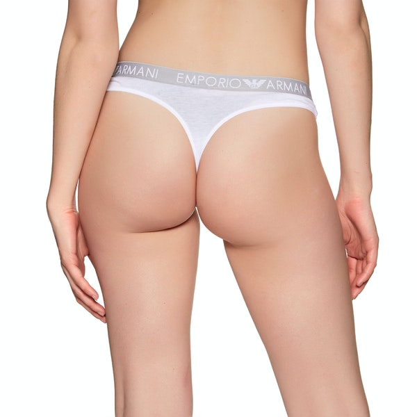 Emporio Armani Iconic Cotton Bi-pack Brazilian Knickers