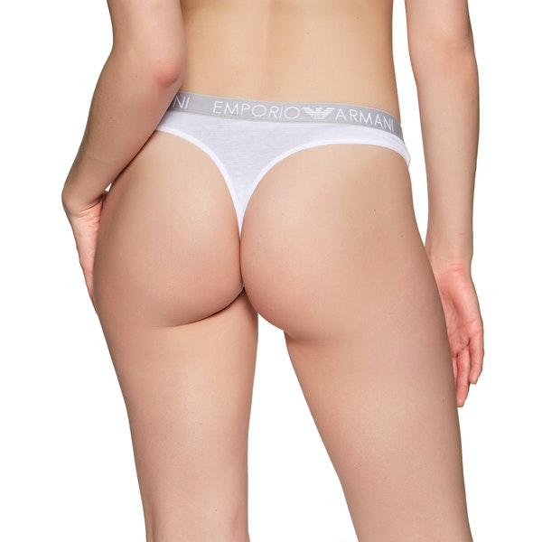 Emporio Armani Iconic Cotton Bi-pack Thong