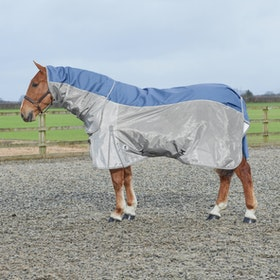 Derby House Elite Stormsafe Fly Rug - Silver Velvet Morning Grey