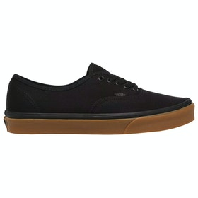 Vans Authentic Kanvas , Sko - 12 Oz Black Gum