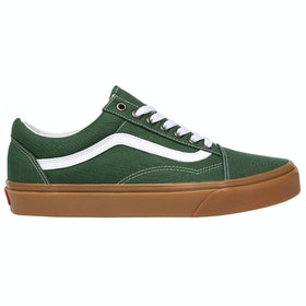 Vans Old Skool Gum Trainers - Greener Pastures True White