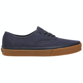 Vans Authentic Canvas Trainers - 12 Oz Parisian Night Gum