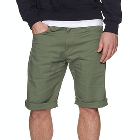 Carhartt Swell Spazier-Shorts - Dollar Green Rinsed