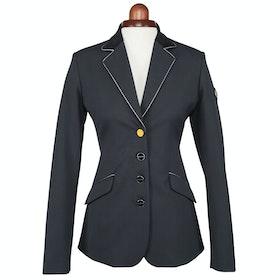Shires Aubrion Maids Delta Girls Comp Jacket - Black