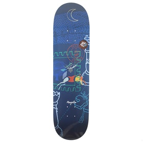 Magenta Soy Panday Leap 8.25 Skateboard Deck - Multi