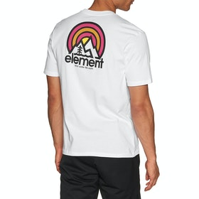 Element Sonata Short Sleeve T-Shirt - Optic White