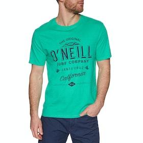 O'Neill Lm Muir Short Sleeve T-Shirt - Salina Green