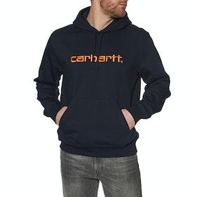 Carhartt Mens Pullover Hoody - Dark Navy / Clockwork