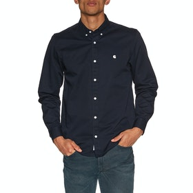 Carhartt Madison Shirt - Dark Navy Wax