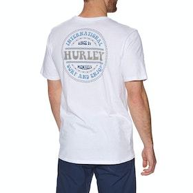 T-Shirt à Manche Courte Hurley Prm Groovy - White