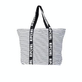 Bolso de playa Mujer Rip Curl Standard Tote Essentials - Black White
