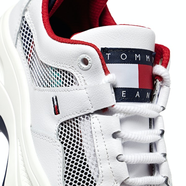 Tommy Jeans Recycled Mesh Flatform Women's Shoes