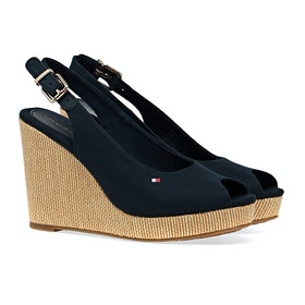 Tommy Hilfiger Iconic Elena Sling Women's Sandals - Desert Sky