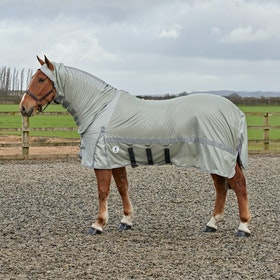 Derby House Pro Fly Rug - Silver